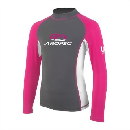 Kid's Lycra Long Sleeve Rash Guard SS-5K87C