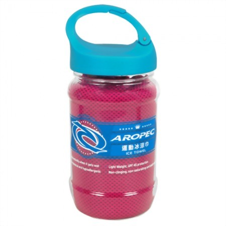 Ice Towel with Drinking Bottle package-set
