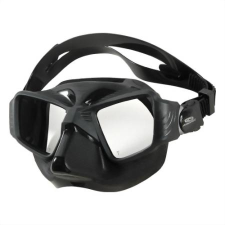 Two Lenses Low Volume Mask, Suit For Spearfish And Free Diving