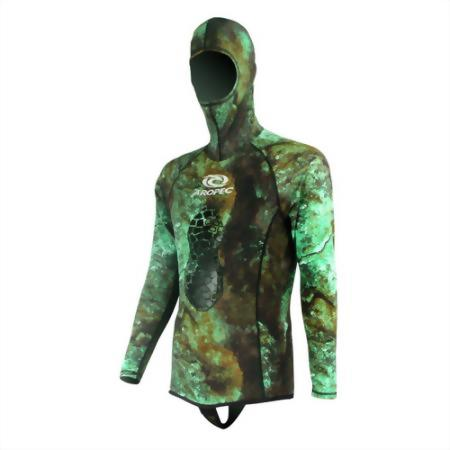 Lycra Spearfishing Hooded Rash Guard