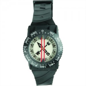 Wrist Mount Side View Compass with Holder