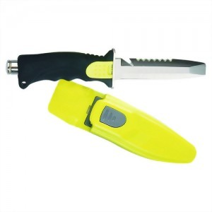 #420 Stainless Steel Flat Top Dive Knife