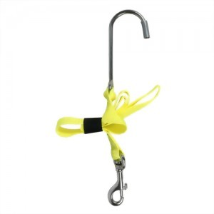 Reef Drift Hook With 25mm N. Yellow Nylon Webbing