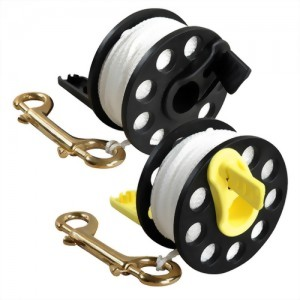 Dive Reel With Handle (100 Feet White String 30 Meter)