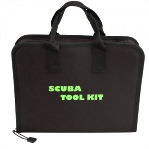 Scuba Tool Kit with Zippered Pouch