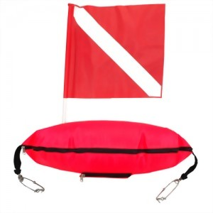 Spear Fishing Float With Dive Flag