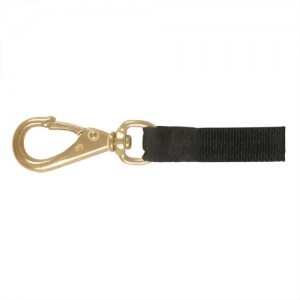Swivel Eye Snap w/ 1 inch wide Nylon Webbing