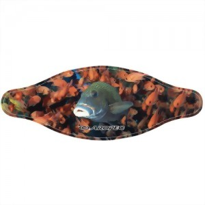 5mm Neoprene Mask Strap With Colorful Marine Animal Picture