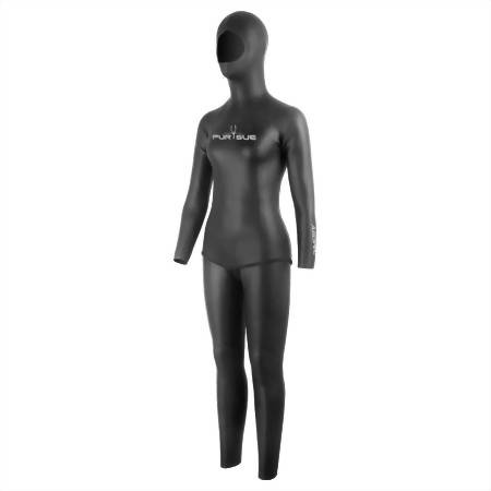 3mm Super-Stretch 2PC Freediving Suit, Woman