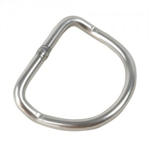 D Ring, with Curve Bent