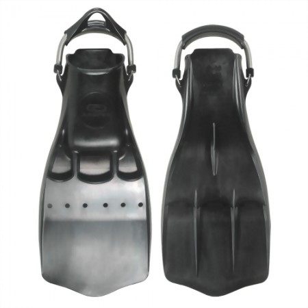 Aropec Rubber Jet Fin With Spring Fin Strap