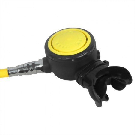 Non-Adjustable Second Stage Regulator With Nylon Braided Hose