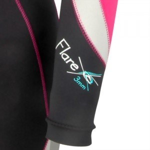3mm Finemesh/Super-Stretch Fullsuit for Lady