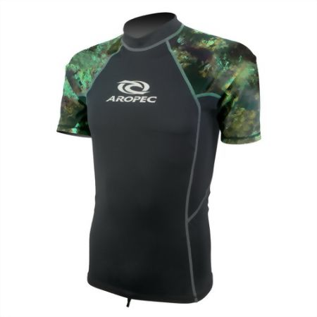 Lycra Short Sleeve Rash Guard Camo for Man