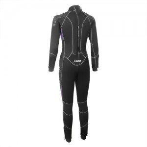 5/5mm Nylon/Super-Stretch 2PC wetsuit for Lady