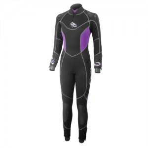 7/5mm Nylon/Super-Stretch 2PC wetsuit for Lady