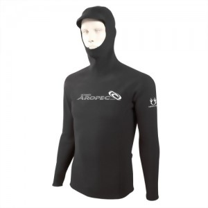 1.5mm Neoprene Hooded Rash Guard