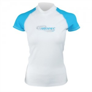 Lycra Short Sleeve Rash Guard for Lady