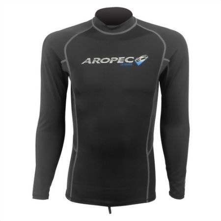 Lycra Long Sleeve Rash Guard, For Man