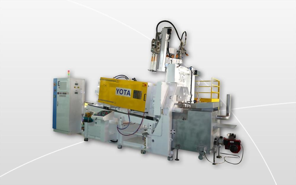 YOTA - TAR 200Z - Hot Chamber Pressure Die Casting Machines