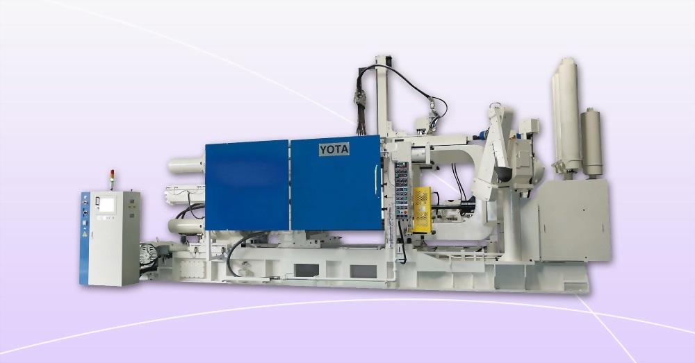 永鈦機械YOTA - DC-900T6 - 全數據化冷室壓鑄機廠商推薦