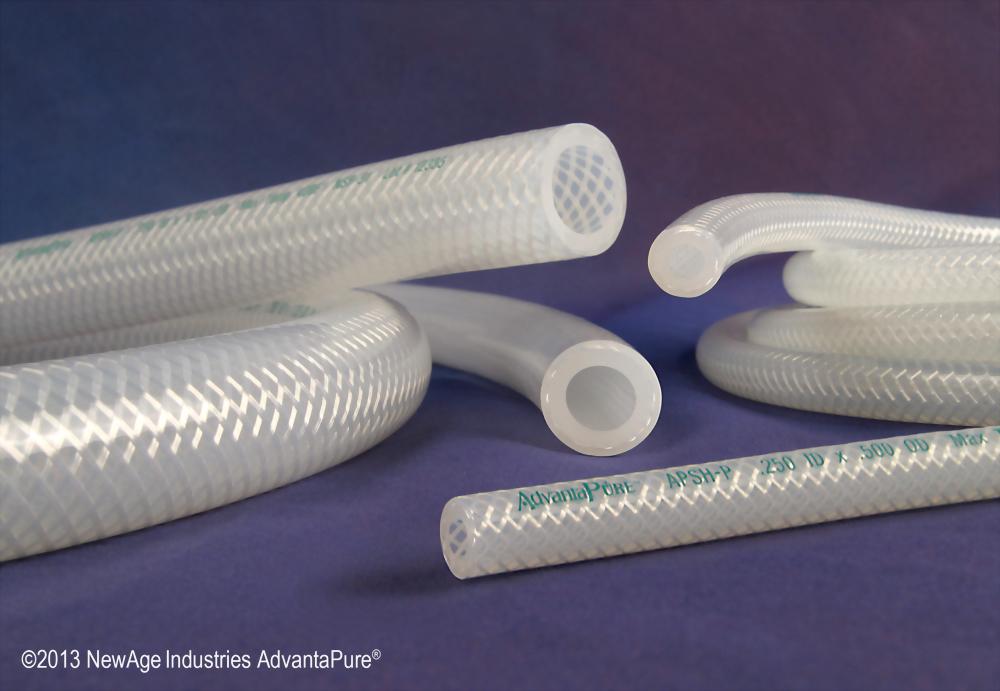 泛用型 雙層編織強化矽膠管