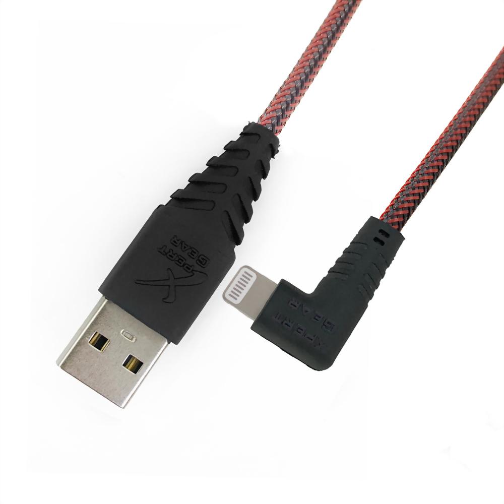 耐拉扯 Lightning to USB 線材加工